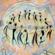 Circle Dancers (Print)